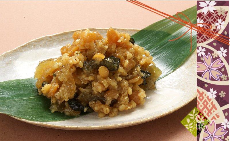紀州金山寺味噌と玄米セット