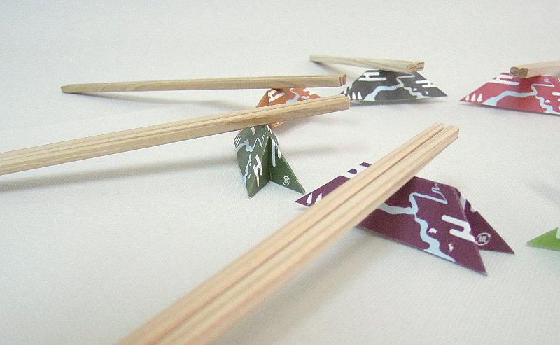 郡上割り箸の箸置き