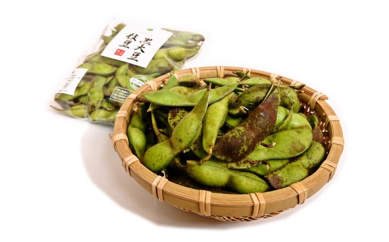 中島さんの黒枝豆