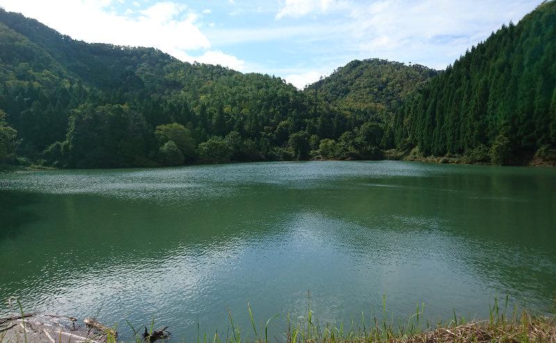 きれいな水貯水池