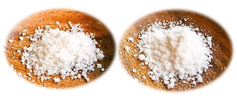 塩の粒の大きさは選べます