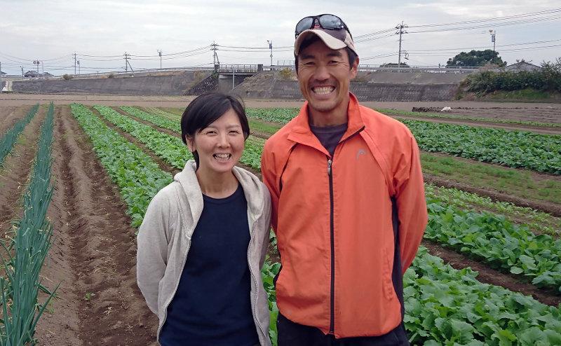 竹田竜太さん真理さん夫妻