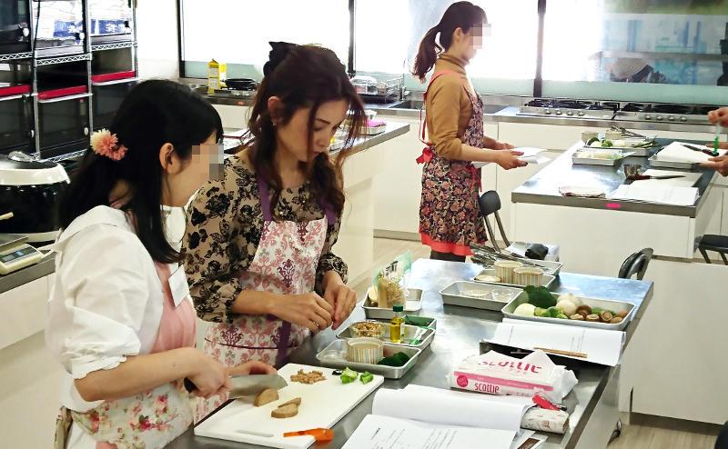 酵素玄米アレンジ教室開催風景