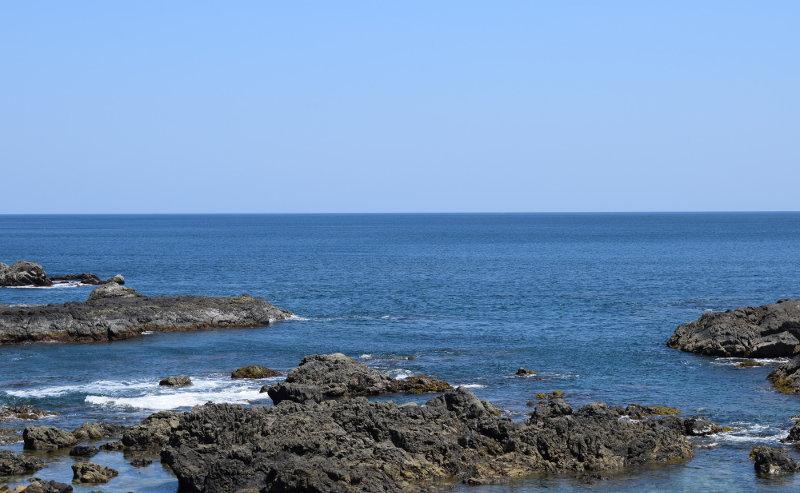 塩丸ができる土佐の海