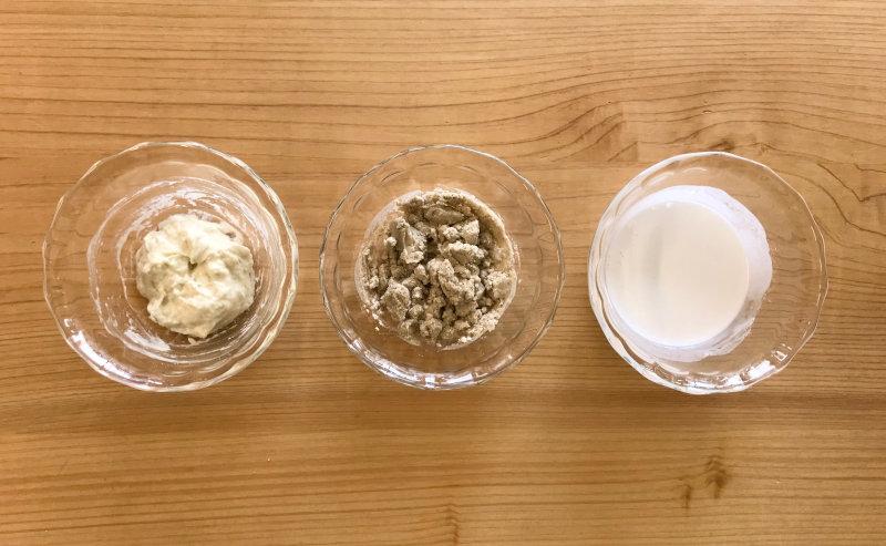 小麦粉と米粉との比較01