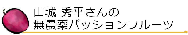 山城秀平さんの無農薬パッションフルーツ