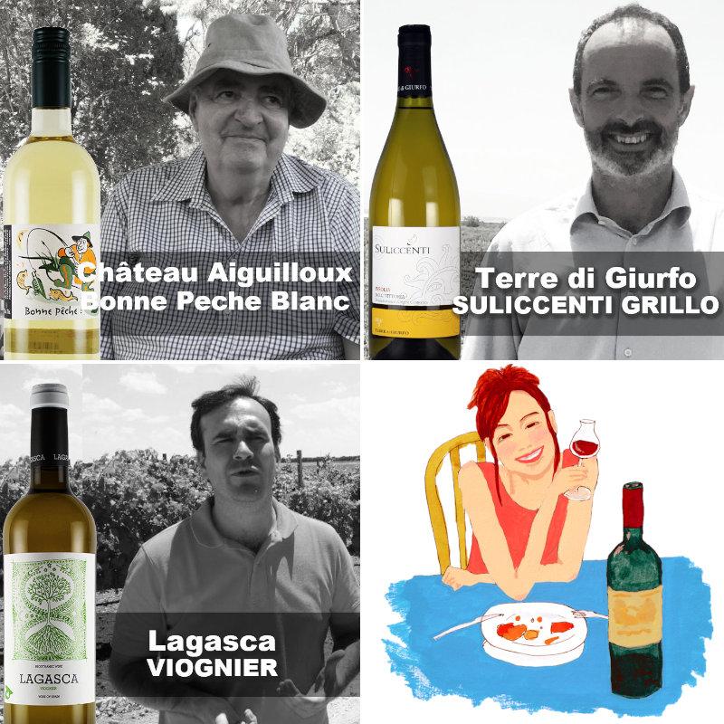 自然派ワイン白ワインリスト
