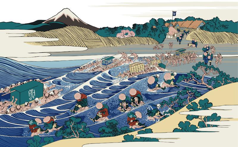 杉さんの自然栽培米静岡焼津旧大井川町